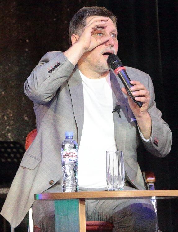 Гедиминас Таранда в фоторепортаже Евгения Пронина.