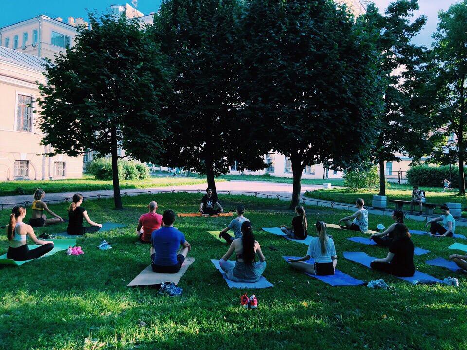 Бесплатная тренировка Бег+йога.