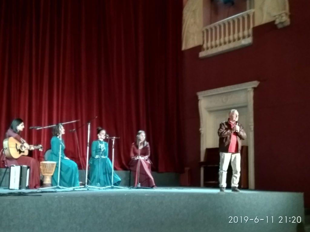 Торжественное открытие Третьего фестиваля Дней грузинского кино в Санкт-Петербурге. Продолжение.