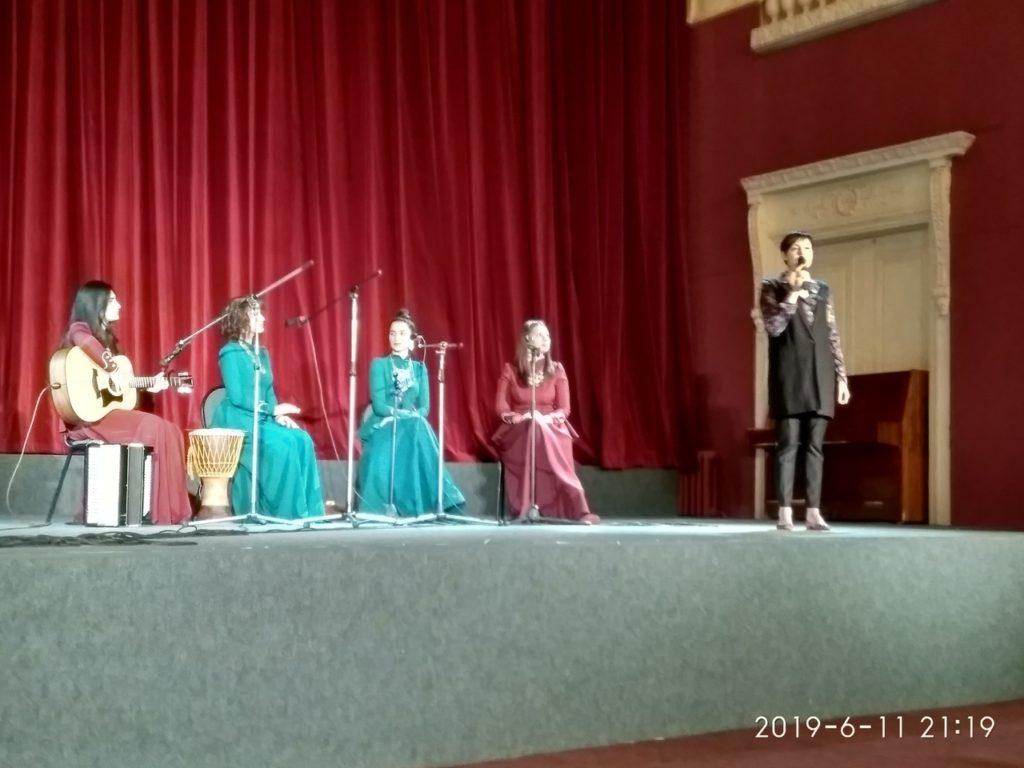 Торжественное открытие Третьего фестиваля Дней грузинского кино в Санкт-Петербурге.