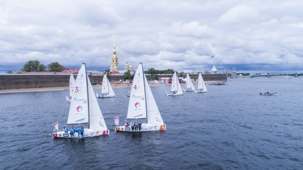 6 и 7 июля «Sailing Champions League 2019» ждет петербуржцев на пляже Петропавловской крепости.
