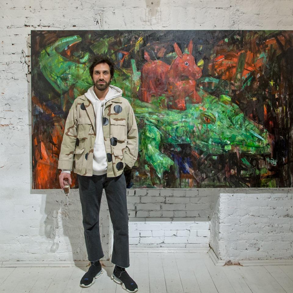 С 1 августа  Антонов Галерея представляет выставку Кирилла Бородина - МИГРАЦИЯ 1.