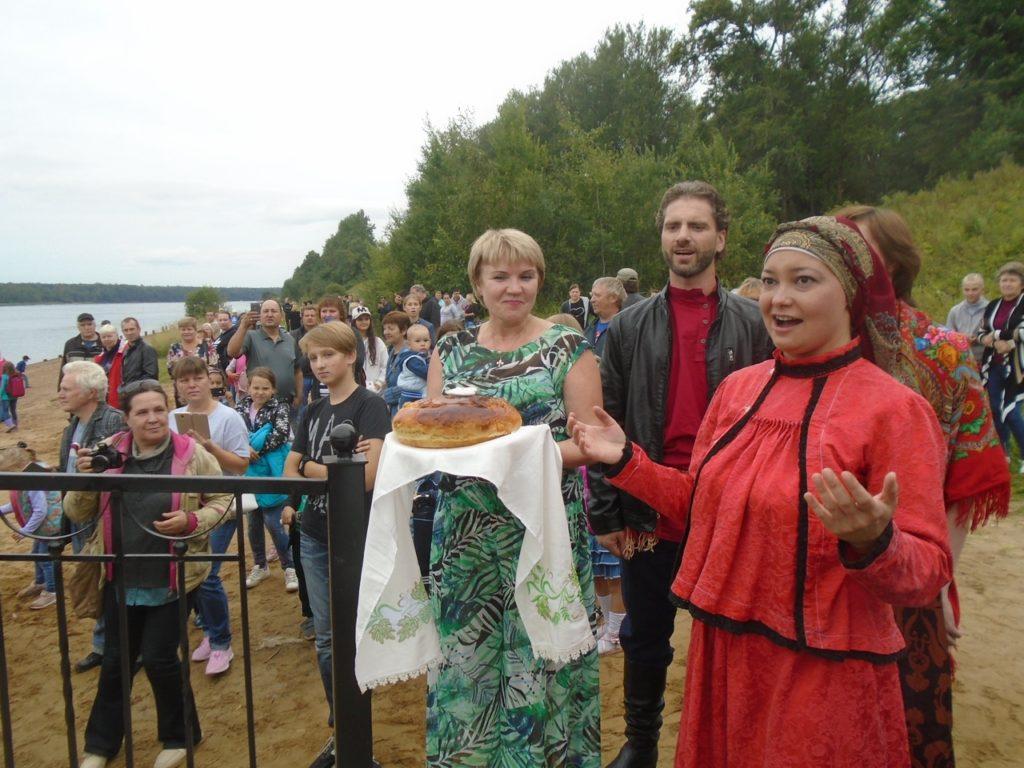 В Ленинградской области введен новый причал.