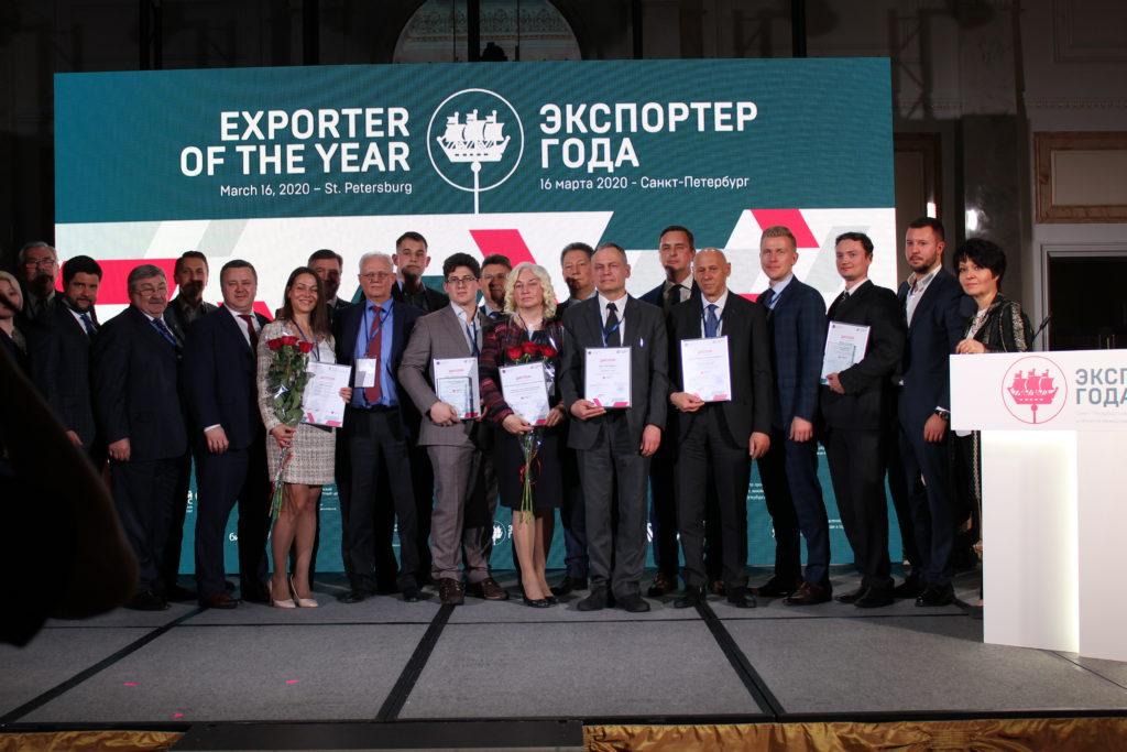 «СОЛВО» получила премию «Экспортёр года 2020»