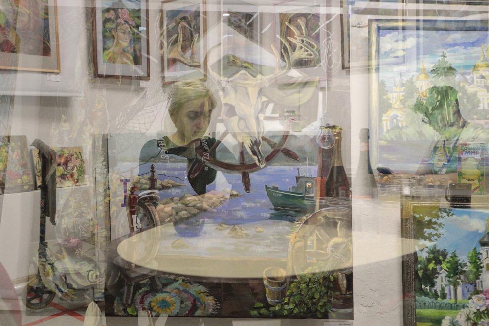 """Вернисаж выставки Ольги Ивановой-Меер """"Этномотив"""" взглядом фотохудожника"""