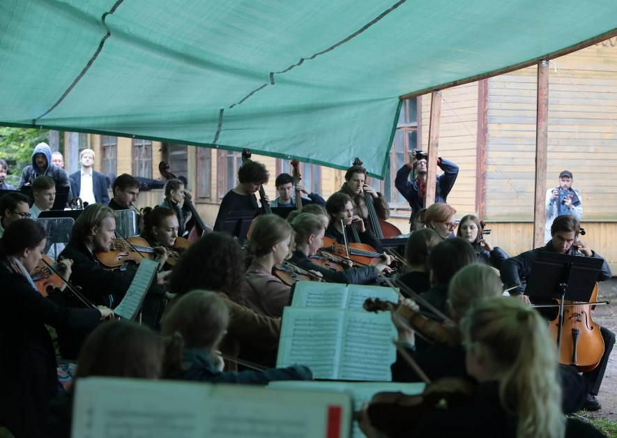 Симфонический оркестр «Таврический» принял участие в Ямбургских пушкинских днях
