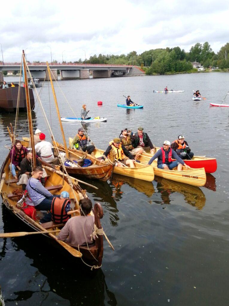 IV Фестиваль водного туризма Ленинградской области в Выборге.