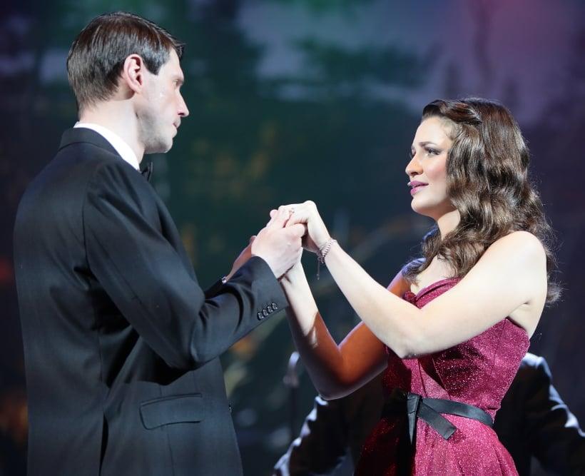 Жизнеутверждающий концерт «Время, вперёд!»  сцене театра «Мюзик-Холл»