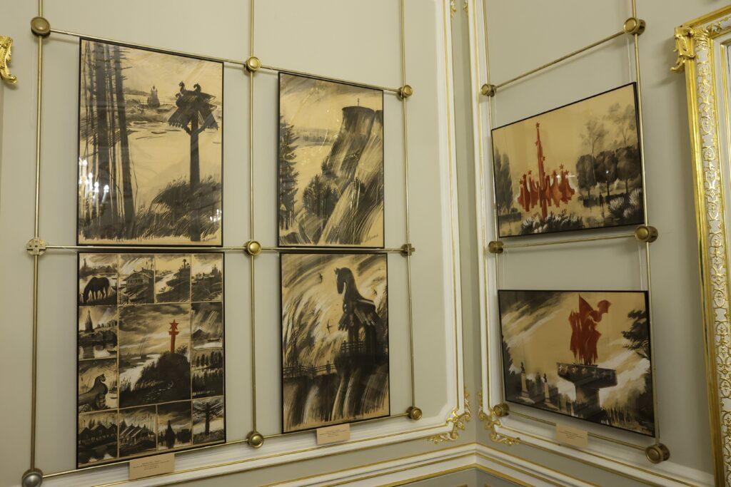 Персональная выставка Владимира Лукьянова «Звезды и камни» в Доме архитектора