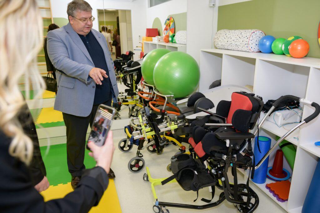 Открытие Центра медицинских технологий и реабилитации для детей с нарушением опорно-двигательного аппарата