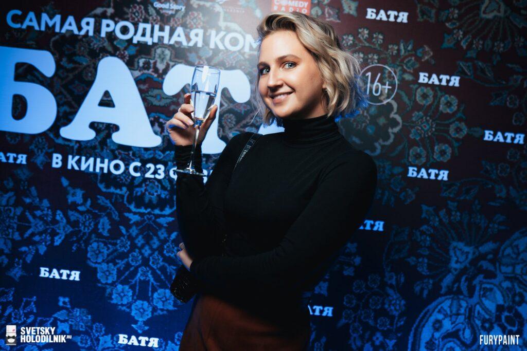"""Премьерный показ новой народной комедии """"Батя"""" в Петербурге"""