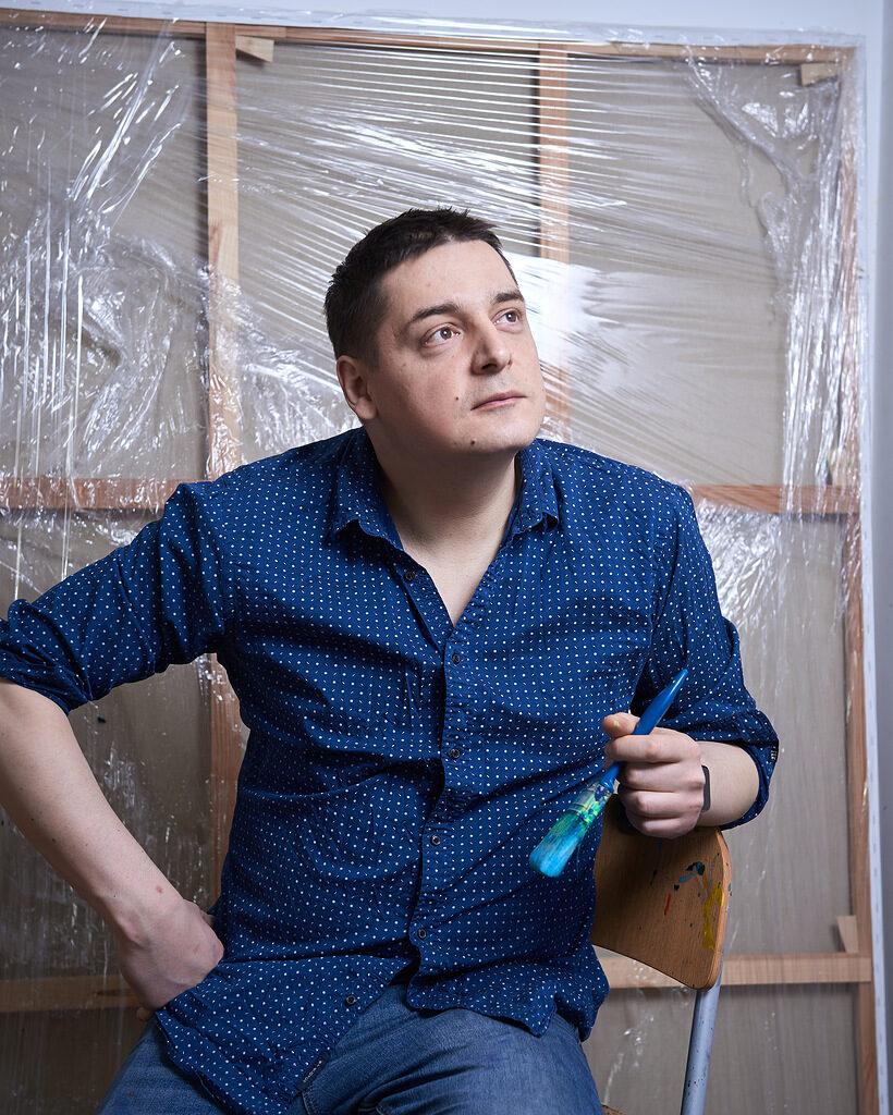 «Планетарные туманности» Ростана Тавасиева c  27 февраля в Anna Nova Gallery