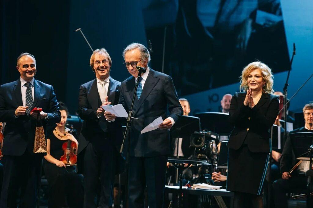 Юлия Стрижак и Фабио Мастранджело удостоены Орденов Звезды Италии степени Офицер