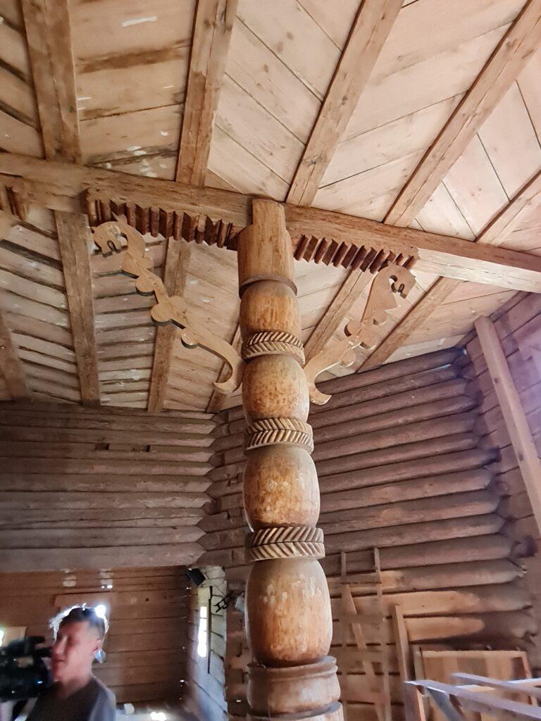Реставрация деревянной церкви Николы - 1669г. в Подпорожье