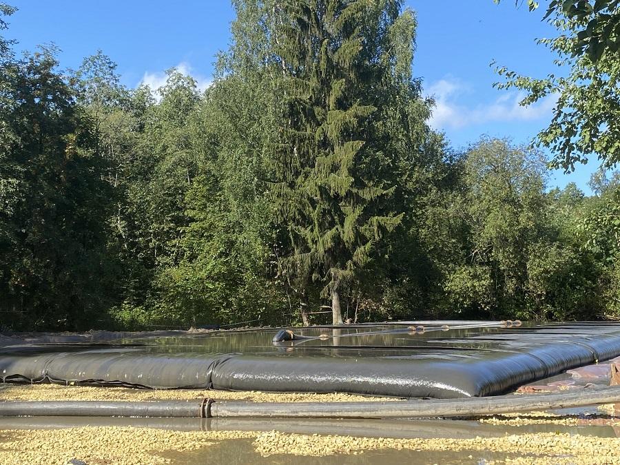 Старт дноочистительных работ озер Филькино, Чёрное и ручья Безымянного